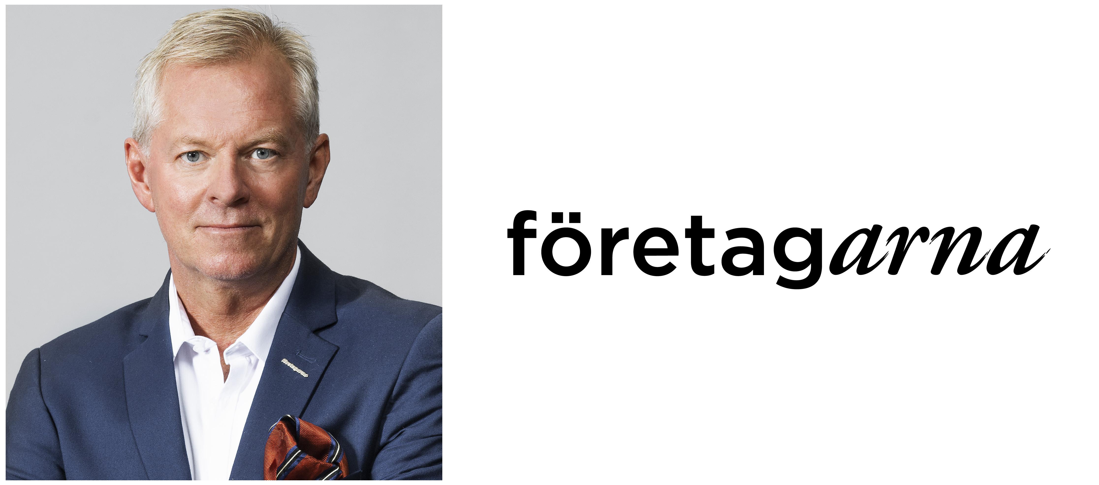 Thomas Byström, Regionchef Stockholms län på organisationen företagarna. FOTO: Lars Classon