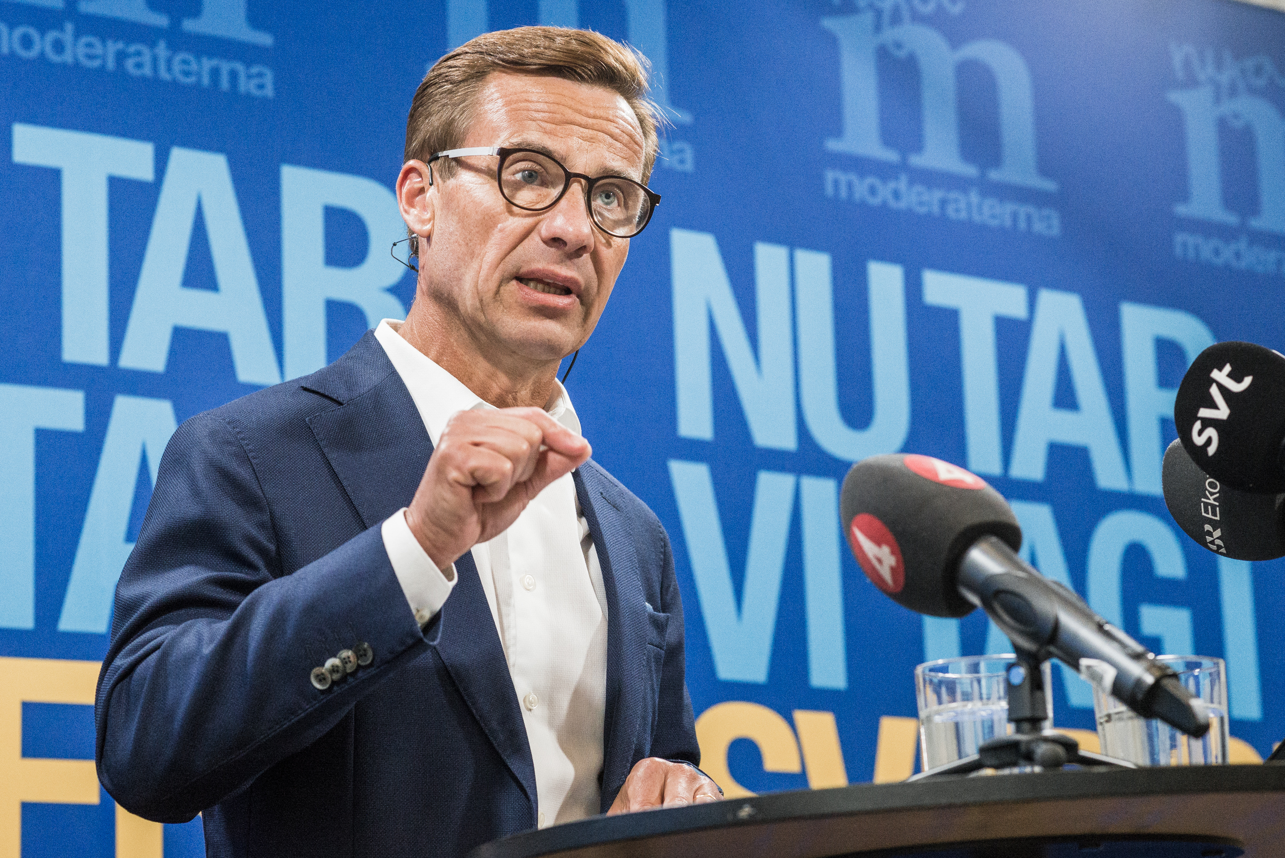 Ulf Kristersson, FOTO: Axel Adolfsson