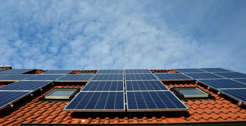 Solcellsanläggning på tak