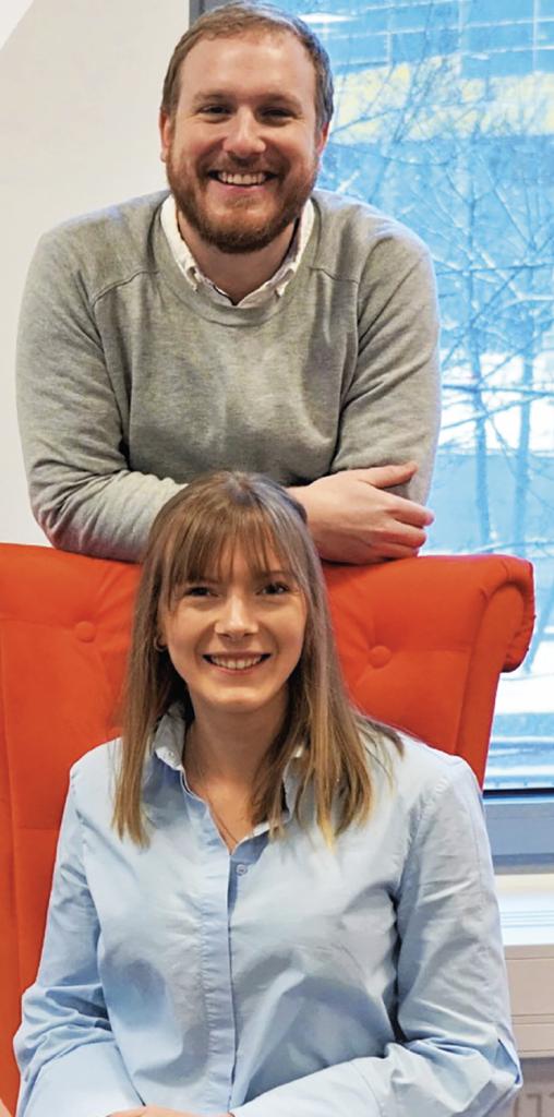 Fredrik Löhr och Elin Ståhl