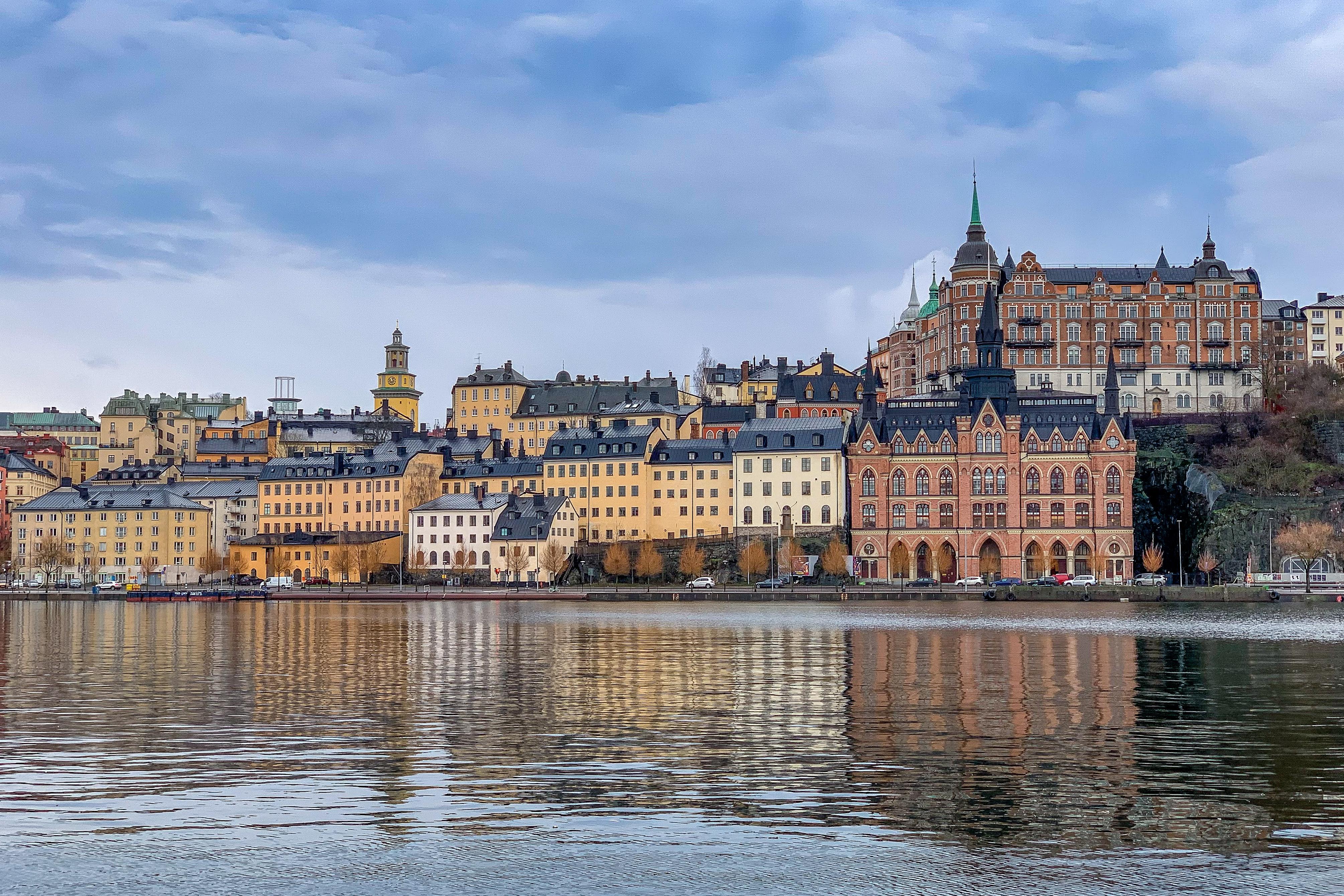 Stockholm befolkning ökar inte lika snabbt.