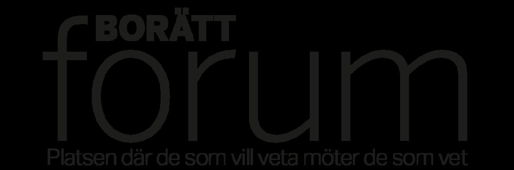 Borätt Forum - Nyheter och fakta för bostadsrättsföreningar | Logga