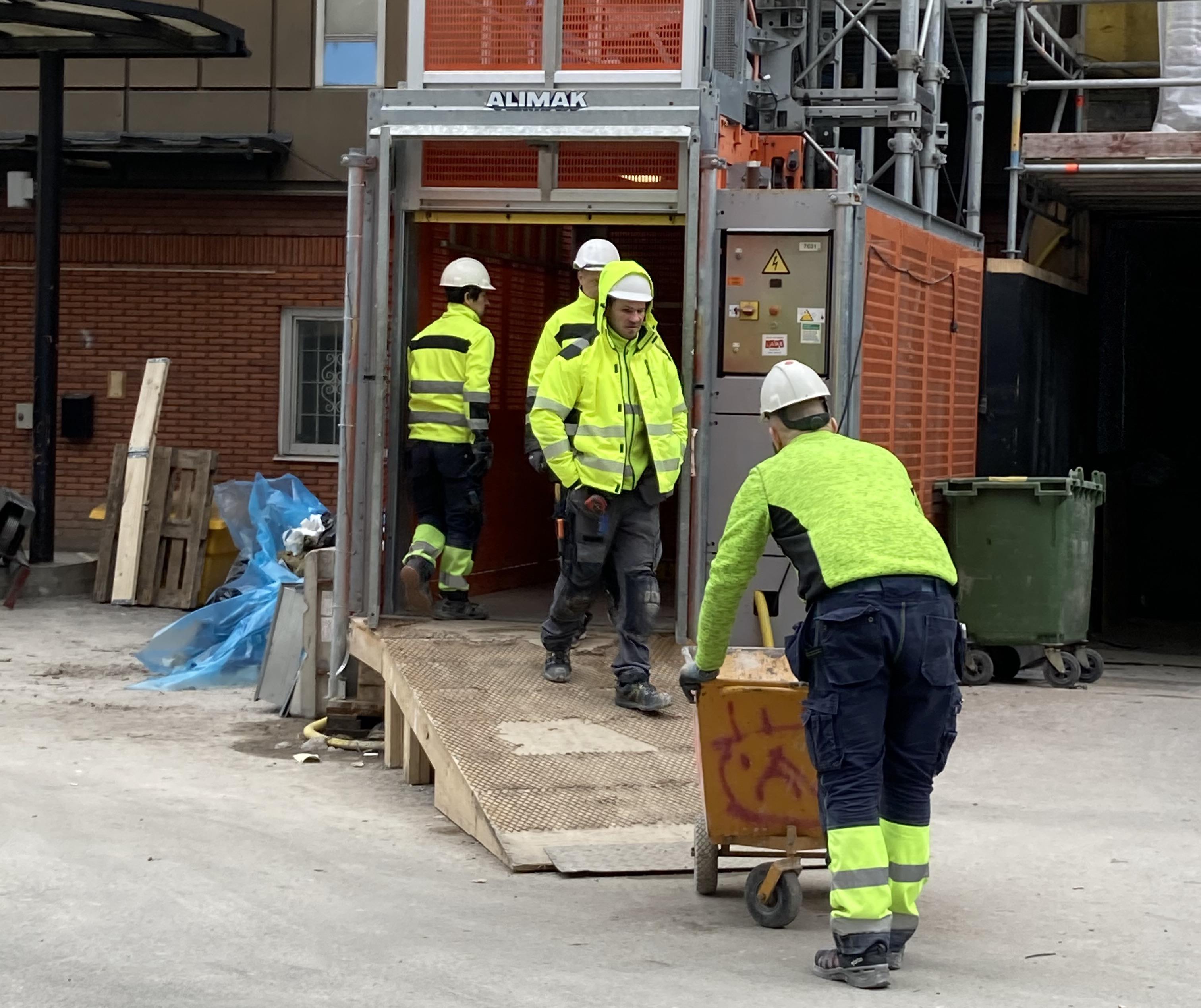 Hårt tryck på byggmarknaden ökar risken för fusk.