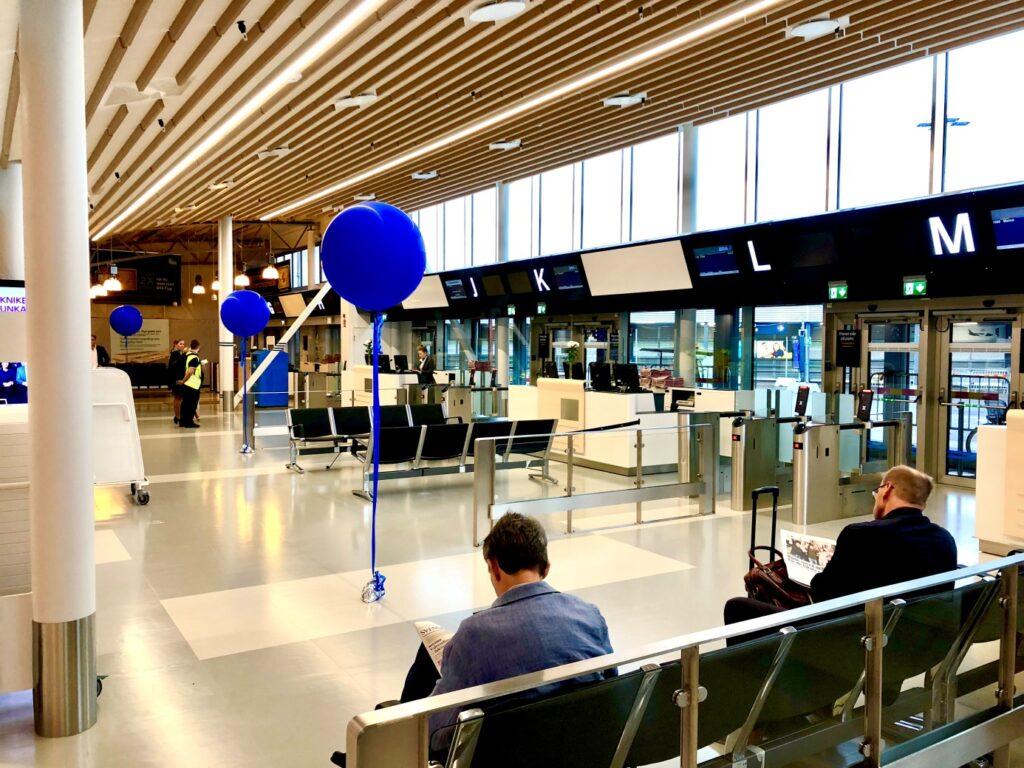 Bromma Stockholm Airport. Foto Hans Uhrus.