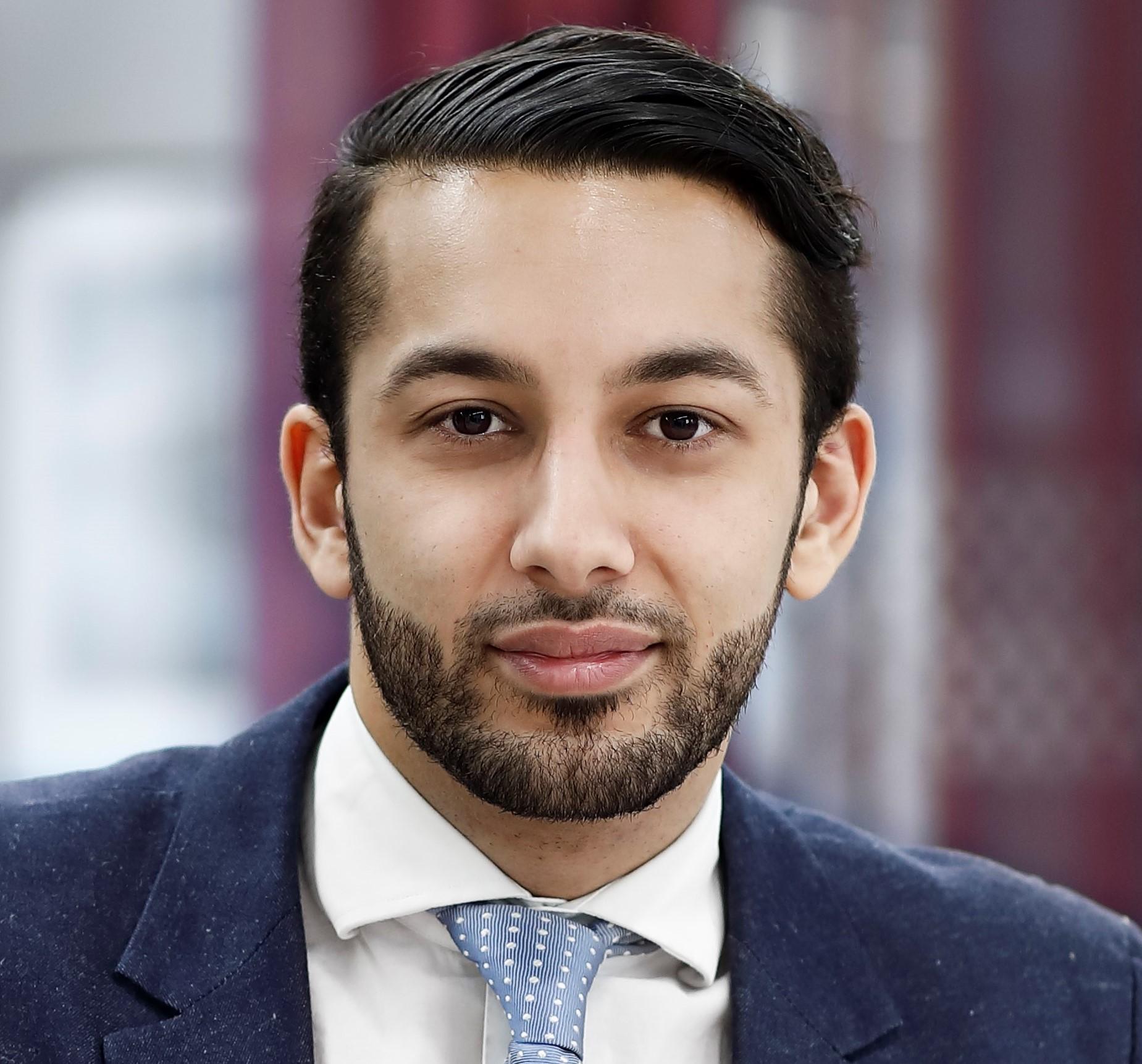 Robin Rushdi har grundat delningsföretaget Vakansa